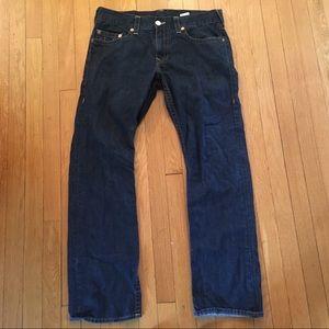 "Men's True Religion Straight Jeans 34x33"""